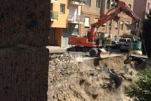 A Logodi utcában elkezdett földmunkákkal kapcsolatosan, az alábbi tájékoztatást adjuk